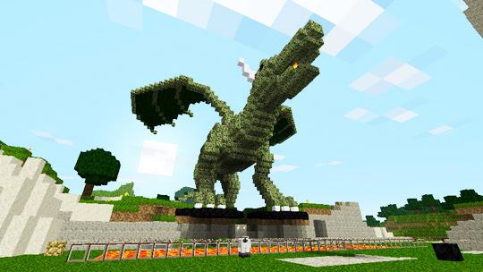 Minecraft Statue DesignsZombie Head Minecraft Statue
